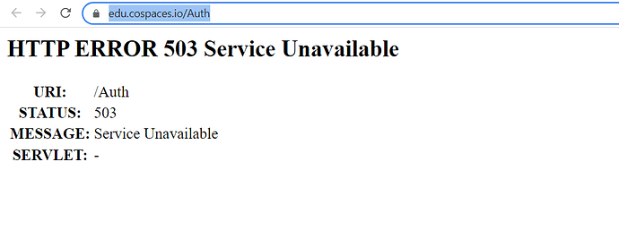 cospaces-is-down