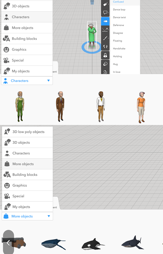Marketplace Characters? - Building, Viewing and Sharing - CoSpaces